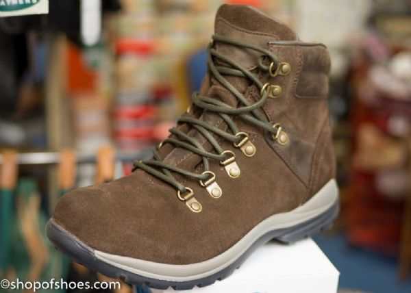 Easy B's  first ever 2V wider fit fully waterproof brown hiking boot.